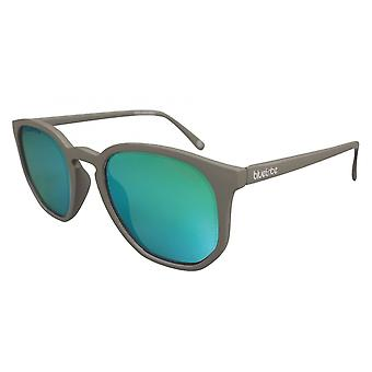 Sunglasses Unisex Flat Cat.3 grey/green