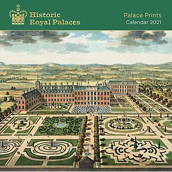 Historic Royal Palaces  Palace Prints Wall Calendar 2021 Art Calendar by Created by Flame Tree Studio