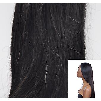 100% Peruvian Real Virgin Human Hair Extensions - Double Weft Wave Straight