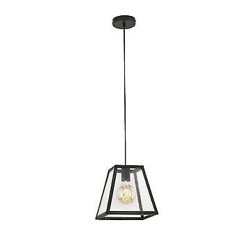 Faro Rose - Musta riipuslamppu 1 x E27 40W