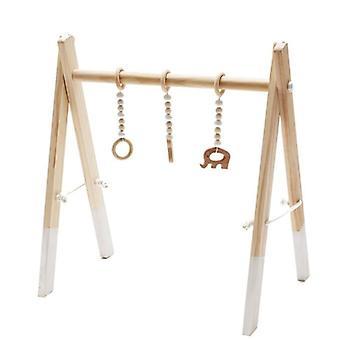 Anillo de bebé Tirar de jugar gimnasio - marco de madera juguete fors decoración de la habitación