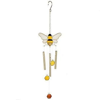 Something Different Bee And Honeycomb Windchime