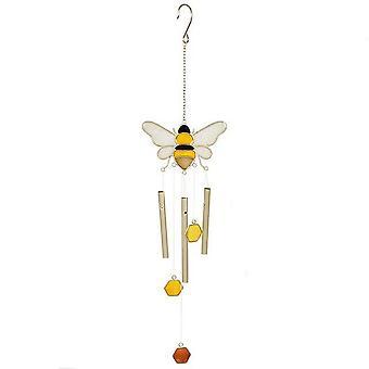 Bee di qualcosa di diverso e a nido d'ape Windchime