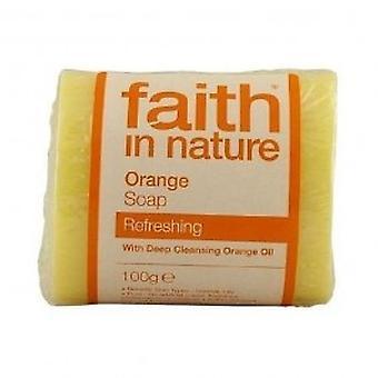 Faith In Nature - Orange Pure Veg Soap 100g