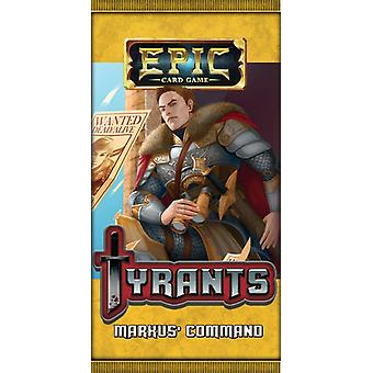 Epic Card Game Tyrants Markus' Command Expansion Pack