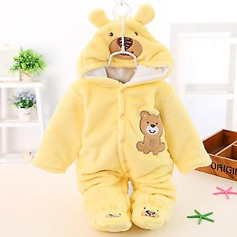 Newborn Baby Winter Rompers -thick Warm Jumpsuit Clothes
