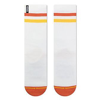 Merge 4 Repreve Subtle Sun Socks - White