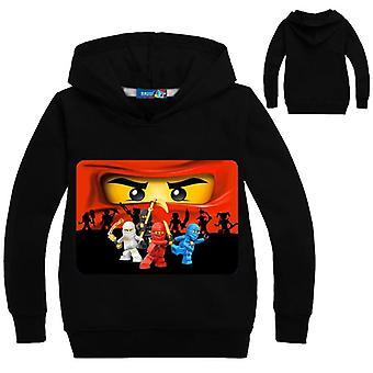 3-14lat Toddler Boy Bluza Legoes Dzieci Bluzy z kapturem Ninjago Koszula Długi rękaw Super Heroes Sweter Jongens Kleding