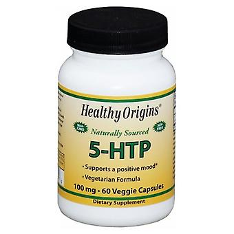 Healthy Origins 5-HTP, 100MG, 60 Caps