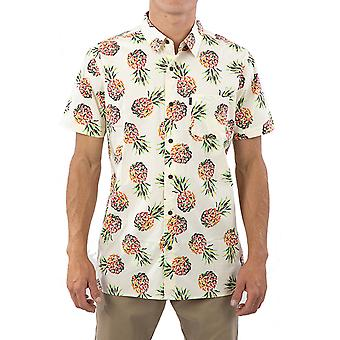 Rip Curl Caicos Short Sleeve Shirt in Yellow