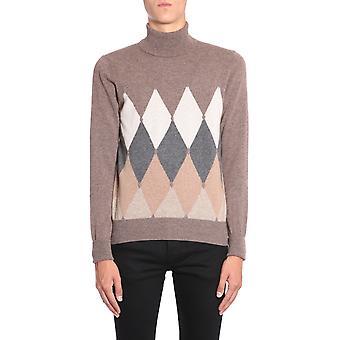 Ballantyne N2p00212ka894432 Men's Multicolor Cashmere Sweater