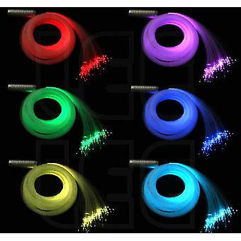 Rgb Plastic Fiber Optic Star Ceiling Kit Light, Touch Remote Controller
