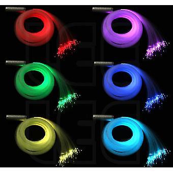 Rgb Plastic Fiber Optic Star Ceiling Kit Light, Contrôleur à distance tactile