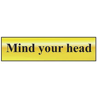 مسح العقل رأسك - مصقول النحاس تأثير 200 × 50mm SCA6030