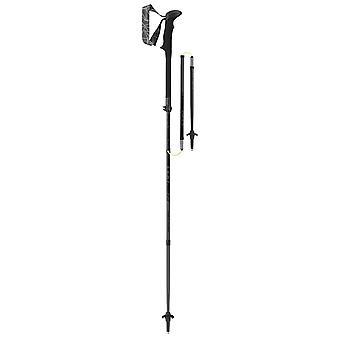 Paire de bâtons de marche noir série noir Leki