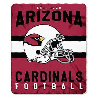 Arizona Cardinals NFL Northwest Team Stripe Fleece Throw