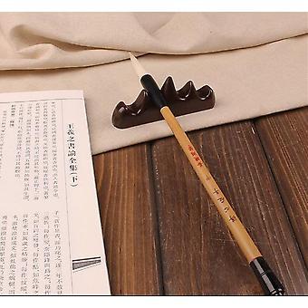 Kinesisk Brush Kalligrafi Pen Indehavere - Wood Mountain Shape Holdere