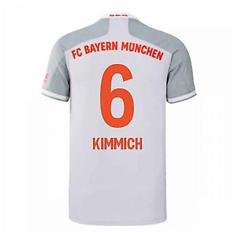2020-2021 Bayern München Adidas Away Futballmez (KIMMICH 6)