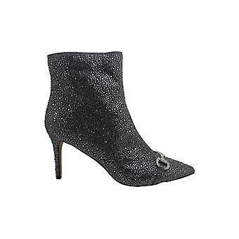 INC International Concepts Womens Ignacia3 Fabric Pointed Toe Ankle Fashion Boots