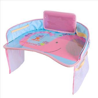 Prachtige Cartoon Print Baby Seat Tray met vaste starp voor auto / kinderwagens