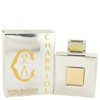 Charriol Royal Platinum By Charriol Eau De Parfum Spray 3.4 Oz (men) V728-531650