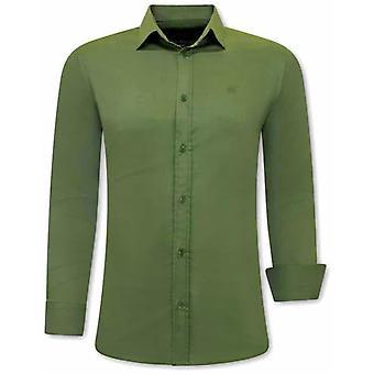 Shirts - Slim Fit - Green