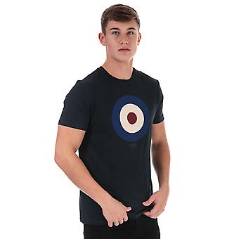 Men's Ben Sherman Das Ziel T-Shirt in blau