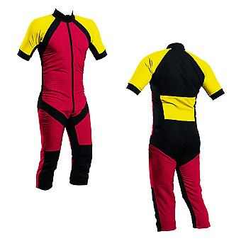 Skydiving summer suit red-yellow s2-03