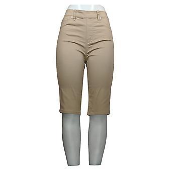 DG2 door Diane Gilman Women's Shorts Beige Back Pockets 675-685