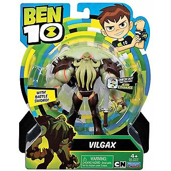 Ben 10 action figures - vilgax for ages 4+