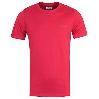 Columbia Rapid Ridge Back Graphic T-Shirt - Red