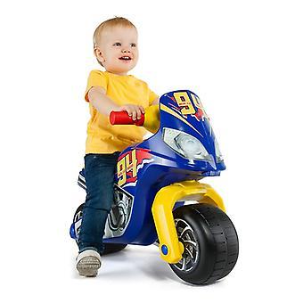 Τρίκυκλο Moto Σταυρός Αγώνας Moltó Μπλε (18+ μήνες)