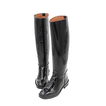Aoud Horse Riding Boots Paint, Cowhide Leather Lining Dressage Riding Equipment