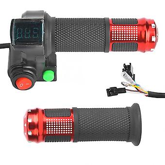Universal Led Voltage Display, Twist Throttle For E-bike