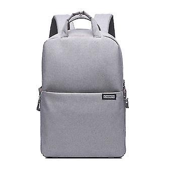 CADeN Fashion SLR Camera Shoulder Multi-function Outdoor Camera Backpack(gray)