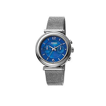 Ferre Milano FM1L081M0051  watch with silver strap and blue dial