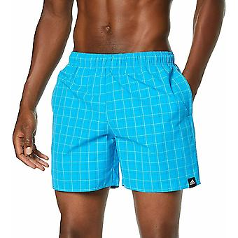 Adidas Men's Check Swim Shorts DQ3023