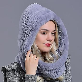 Chapeau d'écharpe tricoté de nouveauté chaude d'hiver