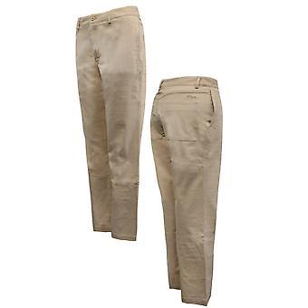 Fila Mens Chino Broek Broek broeken Smart Casual Tan U89938 232 A109E