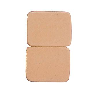 Bristol Novelty Cosmetic Sponges (Pack Of 2)