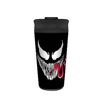 Venom Face Travel Mug