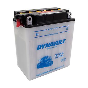 Dynavolt 12N12A4A1 Conventional Dry Charge Battery With Acid Pack