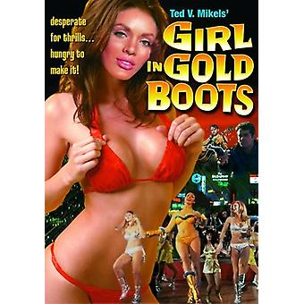 Girl in Gold Boots [DVD] USA import