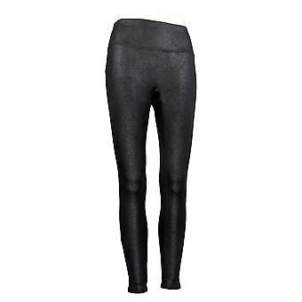 All Worthy Hunter McGrady Leggings The Ultimate Faux Leather Black A394773