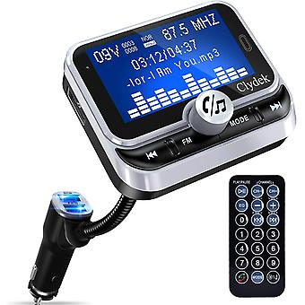Bluetooth FM Transmitter for Car, Car Charger Adapter