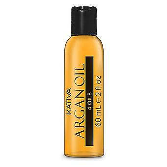 Komplett reparativ olja Argan Oil Kativa (60 ml)