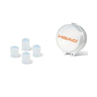 HEAD Silicone Moulded Ear Plugs - Clear