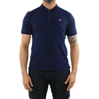 C.P.Company Polo - Short Sleeve Blue 10CMPL067005263W882 Top