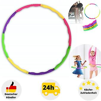 Children's Hula Hoop 8-piece Hip Massage Sport Fitness Gymnastics