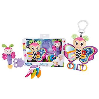 Playgro butterfly keys teether gift pack